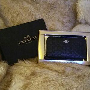 COACH large phone wallet ...